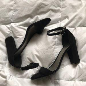 3f439ff4e12 Women s Black Worthington Ankle Strap Heels on Poshmark